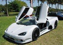 露天车展上前最快量产车Ultimate Aero (SSC)
