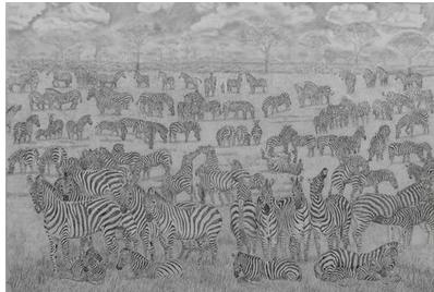 保护环境的小插图铅笔画