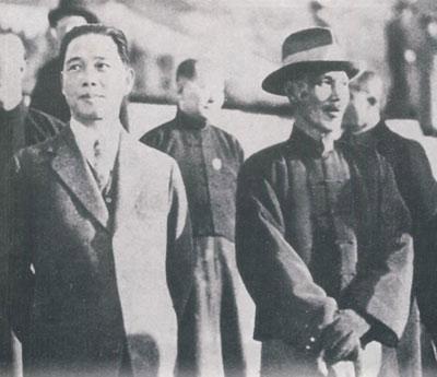 蒋介石如何应对汪精卫背叛党国出逃