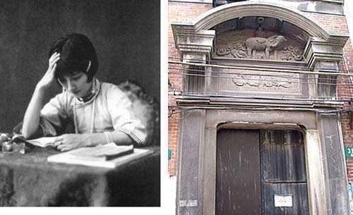 一壶老酒六孔陶笛曲谱-4、陆小曼故居陆小曼,1903年农历9月19日出生在上海南市孔家弄,