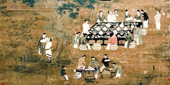 古代官场应酬:大臣醉生梦死 喜宫廷宴会