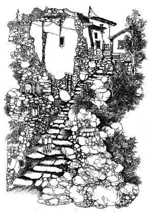 诗意的栖居——魏应彪钢笔画作品展