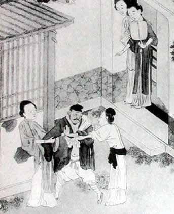 古代娼业起源:最早妓女为宗教服务(图)图片