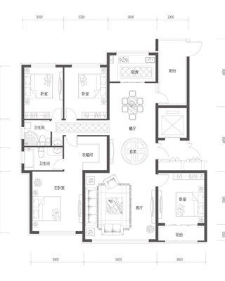 187�O 4室2厅2卫