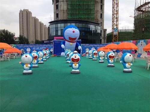 哆啦A梦全球巡展6月登陆绿地中央广场