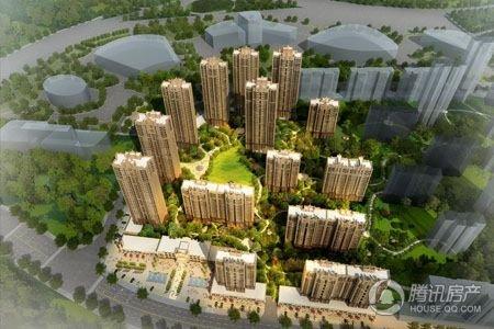中海国际社区 高层景观示范区正式开放
