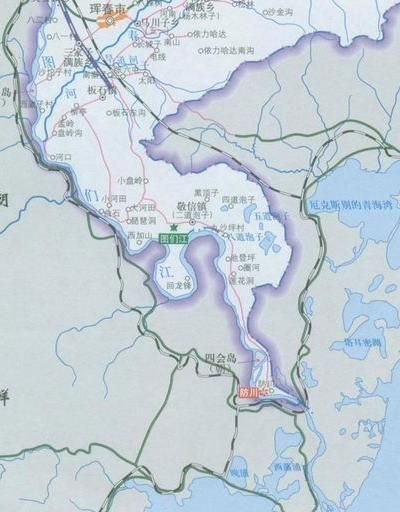 """探访中国地图上的""""鸡嘴"""" - 木仁格乐 - 木仁格乐的博客"""