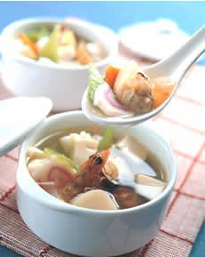 在家亲手做美味一品豆腐汤
