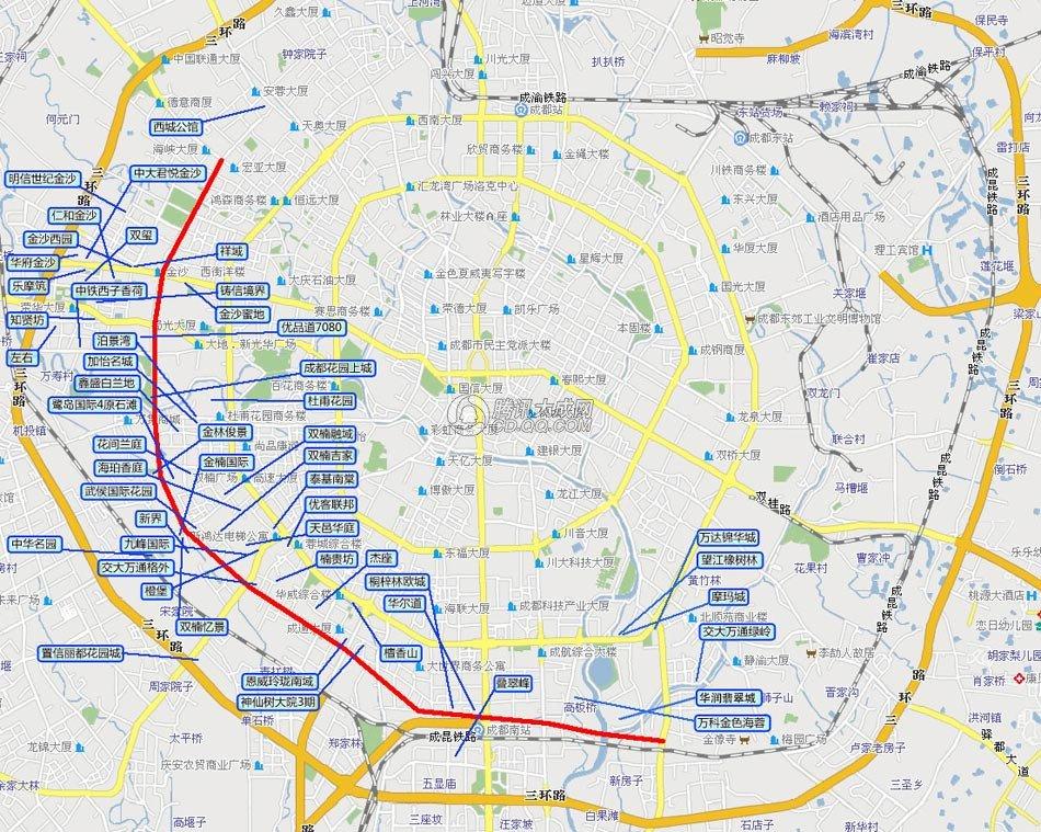 成都市规划图高清