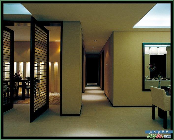 简约风格加中式风格+中西合璧的混搭家居