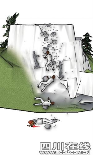 四姑娘山发生山难 一导游被落石击中死亡(图)