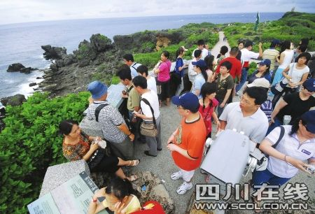 直航每周7班 成都出发游台湾下月降价1200元
