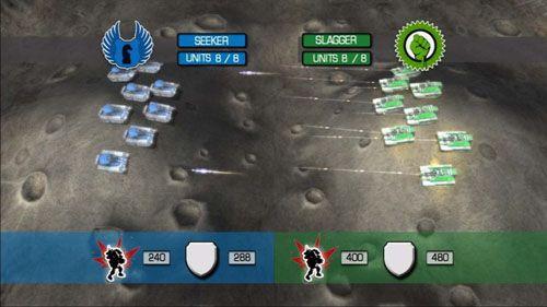 军队疯狂 月面基地 游戏画面