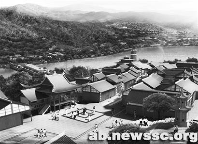 水磨镇高污染企业全部搬迁 开建中国最美羌城