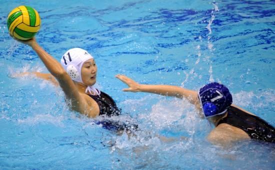 四川获得全运会女子水球季军