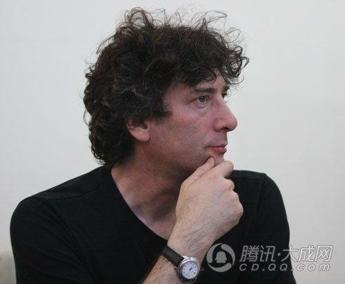 著名科幻作家尼尔·盖曼来蓉 欲写悟空之书_