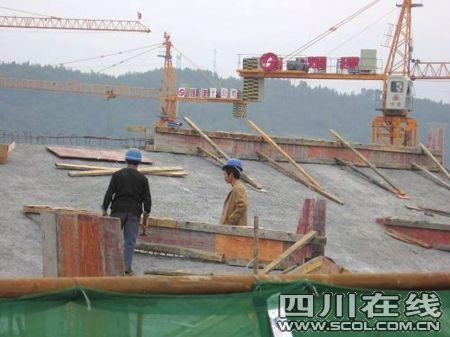 北川新县城495户安居房封顶 总面积5.38万平