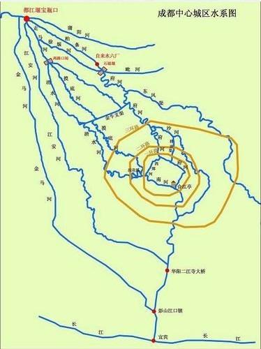 四川岷江流域地图