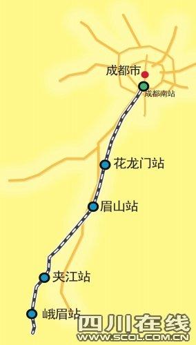 成昆铁路复线米易段_