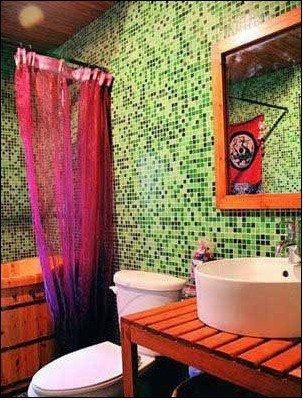 超个性浴室装修效果图