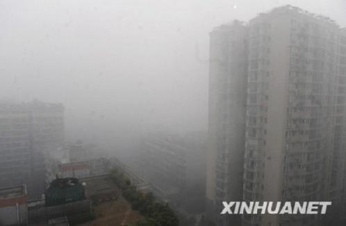 四川大雾继续弥漫 省内多条高速公路封闭(图)
