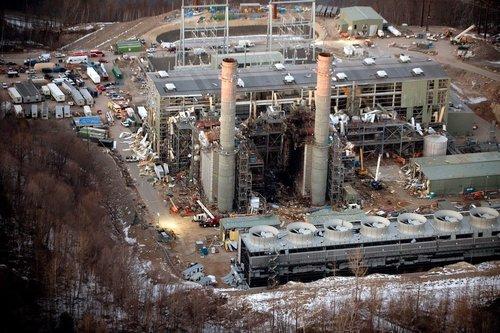 """美国一发电厂发生爆炸 或致""""大面积伤亡"""""""