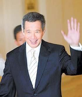 新加坡总理李显龙   新加坡总理李显龙在农历新年前夕发表...