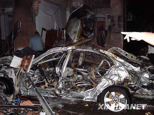 2月26日晚,广东省普宁市军埠镇石桥头村村民杨俊树燃放烟花引起爆炸