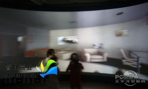 睿联虚拟仿真互动投影家具屋室内设计系统