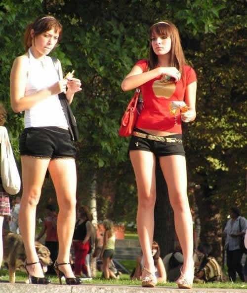 丰乳翘臀长腿细腰 俄罗斯为何多美女?组图 新