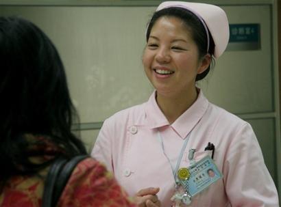 西村理香-日本护士来川学习 心里有个 罪 字图片