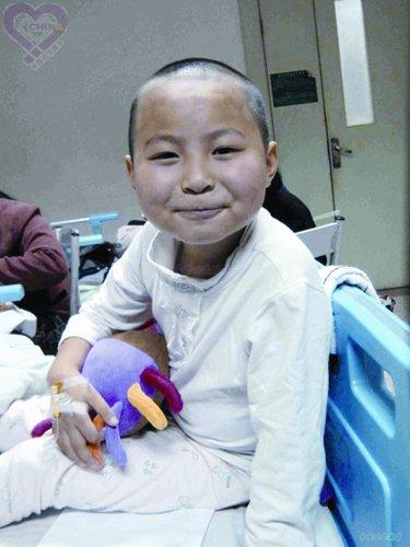 志愿者爱心助北川8岁白血病女孩重获新生