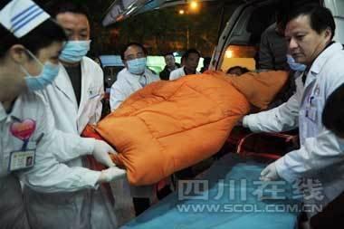 成都两医院已收治玉树地震伤员159名(组图)