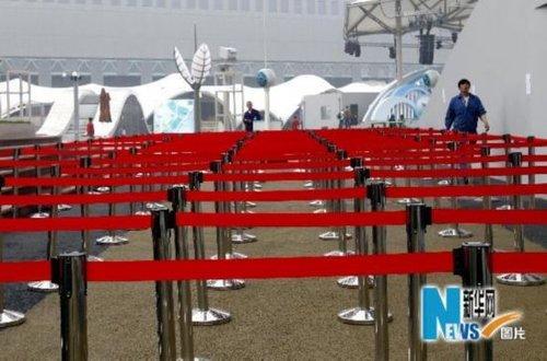 世博园今起迎来首场试运营 预计70 场馆参与