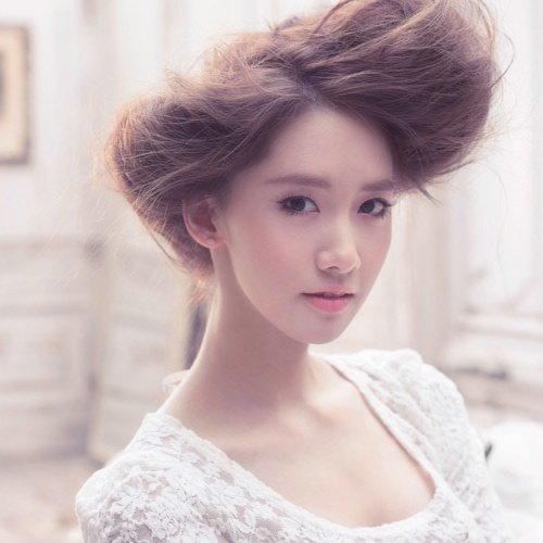 盘点少女时代惊艳纯美洛丽塔风格发型(组图)