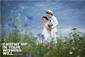 成都难得的婚照取景地 拍建筑和草原