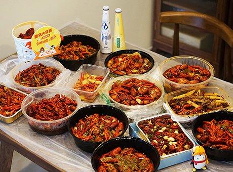 独享一桌10斤+极品小龙虾 只要你手速够快