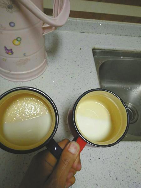 成都市民买进口奶粉味道不对 商家:退货需做质