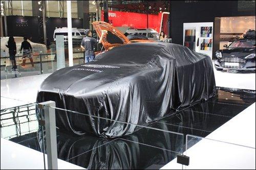 本次车展,阿斯顿 马丁发布了其全新的豪华跑车——vanquish,高清图片