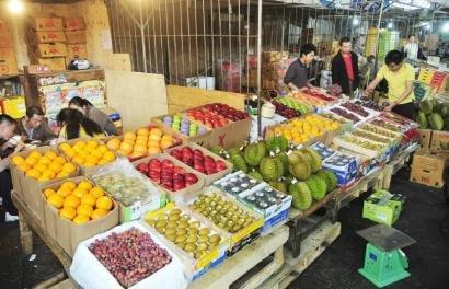成都最老果品批发市场正式关闭 已有26年历史