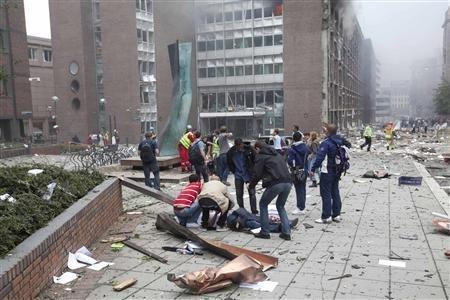 挪威爆炸枪击案为国内恐怖袭击 凶手有政治动机