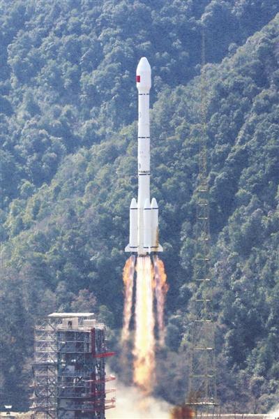 一箭双星 12日北斗三号全球组网卫星成功发射