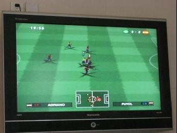 鑫苑名家周末世界杯活动 PS2实况足球赛火热