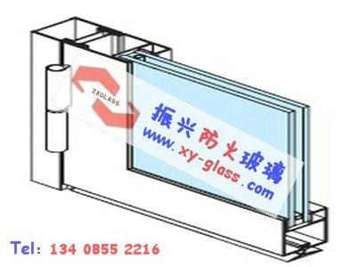 防火玻璃隔断系统造就防火玻璃门防火又防烟