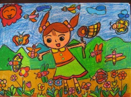届时孩子们将在港宏广本4s店内泼墨挥毫,尽情展示自己的才艺.图片