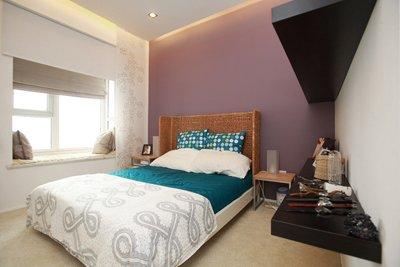 现代感的卧室