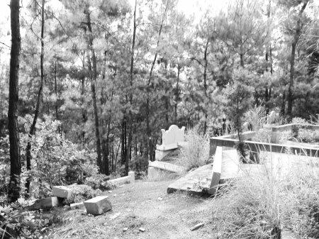 达州政府禁令变空文 景区坟墓还在建(图)