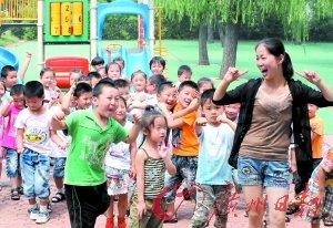 民办幼儿园幼师工资不如保姆 岗位流动性大