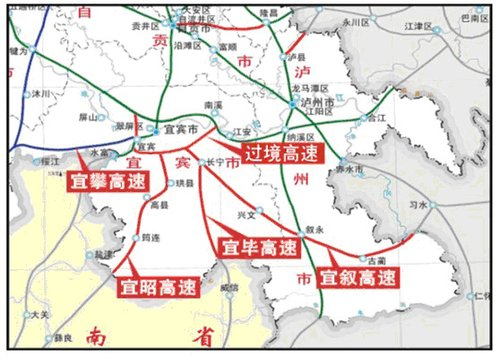 速公路建设规划图