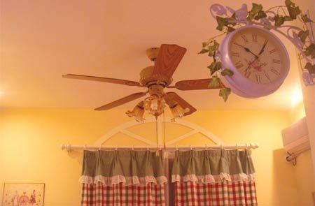 女主人爱田园风 节省空间打造80平浪漫满屋